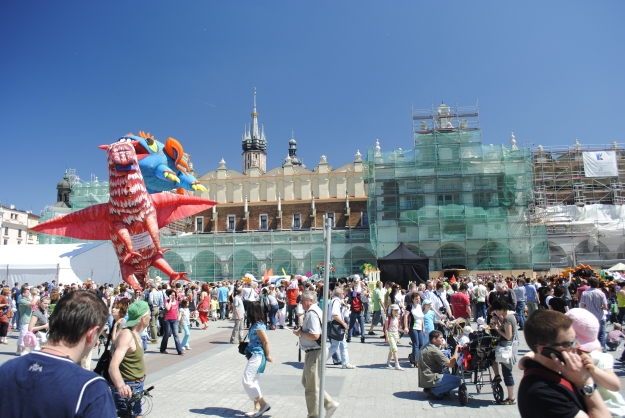 Parade of Dragons in Main Square