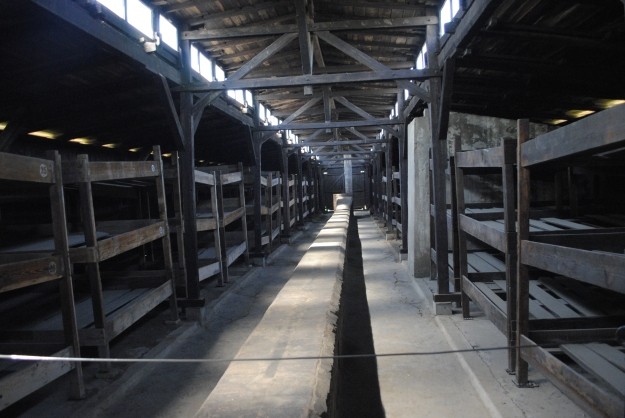 Auschwitz Concentration Camp: Sleeping quarters