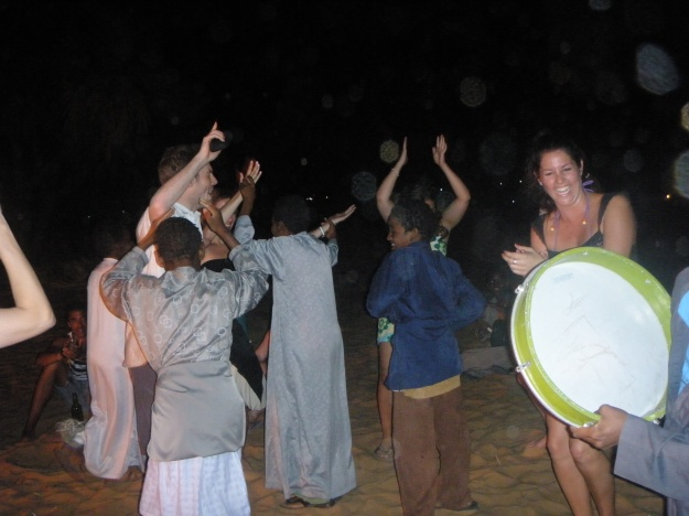 Dancing on the banks of the Nile