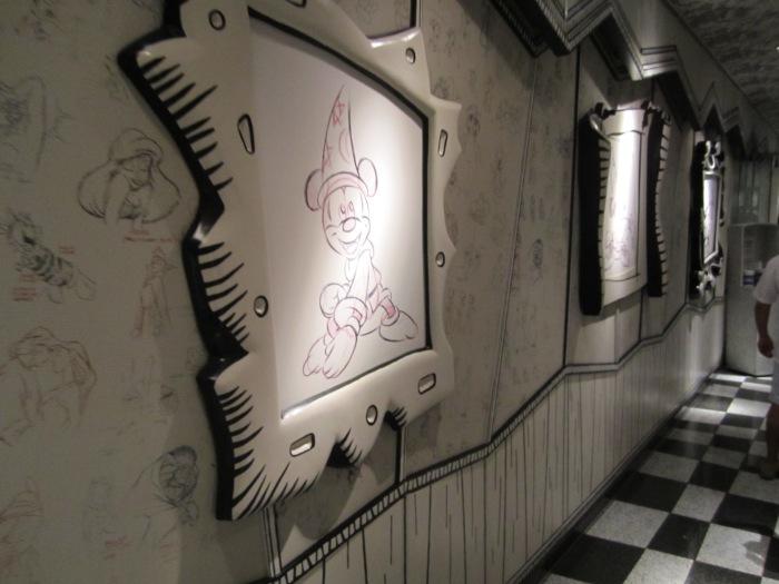 Animators Palate aboard the Disney Wonder