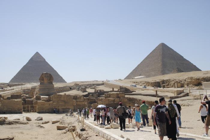 Pyramids and Sphinx of Giza